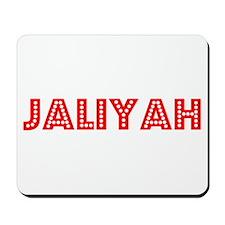 Retro Jaliyah (Red) Mousepad