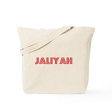 Retro Jaliyah (Red) Tote Bag
