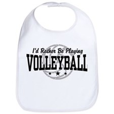 I'd Rather Be Playing Volleyball Bib