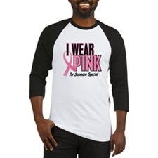 I Wear Pink For Someone Special 10 Baseball Jersey