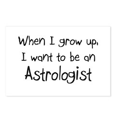 When I grow up I want to be an Astrologist Postcar