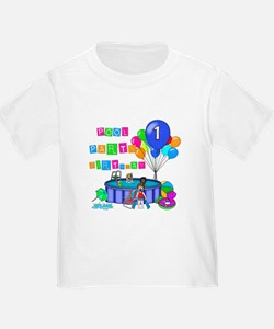 Pool Party 1st Birthday T