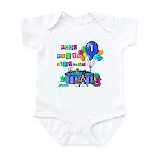 Pool Party 1st Birthday Infant Bodysuit