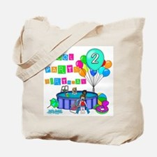 Pool Party 2nd Birthday Tote Bag