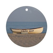Cape May Lifeboat Keepsake (Round)