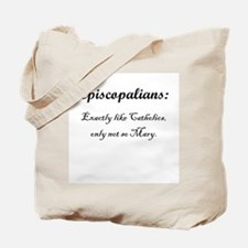 Episcopalians Tote Bag