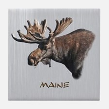 Big Moose Tile Coaster