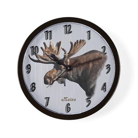 Big Moose Wall Clock