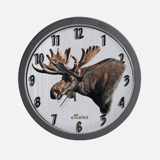 Big Moose Wall Clock