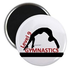 Gymnastics Magnet - Level 9