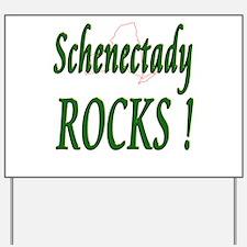 Schenectady Rocks ! Yard Sign