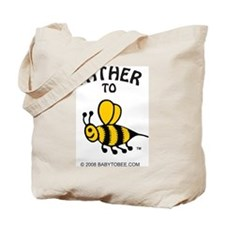 Cute Expectant father Tote Bag
