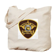 Tombstone Marshal Tote Bag