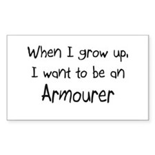 When I grow up I want to be an Armourer Decal
