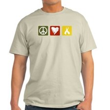 Peace, Love, Support T-Shirt