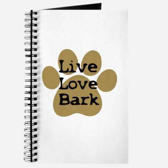 live love bark Journal
