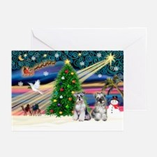 Xmas Magic & Min S Greeting Cards (Pk of 20)