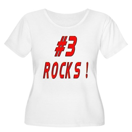 3 Rocks ! Women's Plus Size Scoop Neck T-Shirt