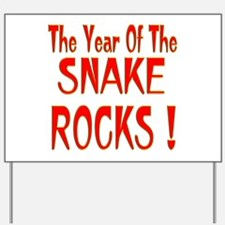 Year of the Snake Yard Sign