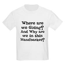 Handbasket Kids T-Shirt