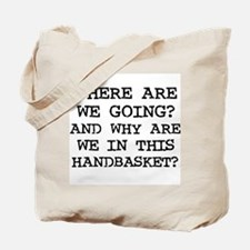 Handbasket Tote Bag