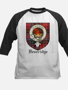 Beveridge Clan Crest Tartan Kids Baseball Jersey