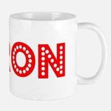 Retro Jaron (Red) Mug