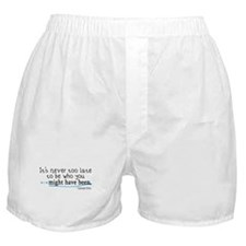 It's never too late... Boxer Shorts