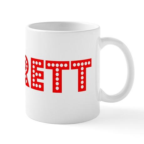 Retro Jarrett (Red) Mug