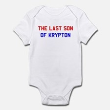 """The Last Son of Krypton"" Infant Bodysuit"