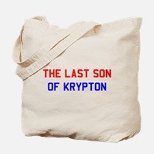 """The Last Son of Krypton"" Tote Bag"