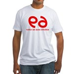 FUNNY 69 HUMOR SHIRT SEX POSI Fitted T-Shirt