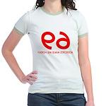 FUNNY 69 HUMOR SHIRT SEX POSI Jr. Ringer T-Shirt