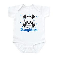 Lock up your Daughters Skull Baby Infant Bodysuit