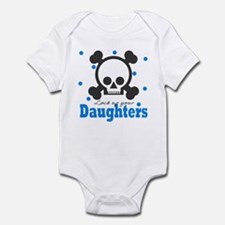 Lock up your Daughters Skull Baby Infant Bodysuit