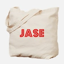 Retro Jase (Red) Tote Bag