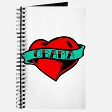 Obama Heart Tattoo Journal