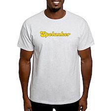 Retro Spelunker (Gold) T-Shirt