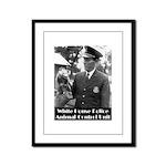 White House Police Framed Panel Print