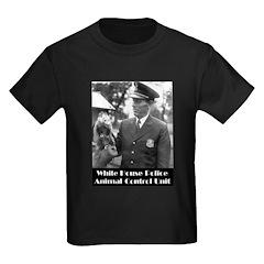 White House Police Kids Dark T-Shirt