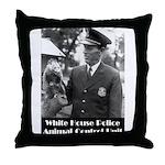 White House Police Throw Pillow