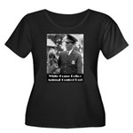 White House Police Women's Plus Size Scoop Neck Da