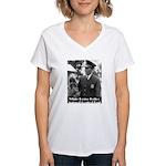 White House Police Women's V-Neck T-Shirt