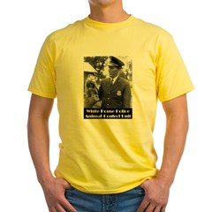 White House Police Yellow T-Shirt