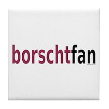 BorschtFan Tile Coaster