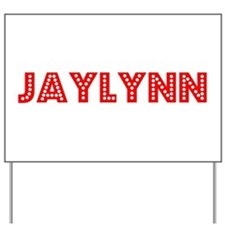 Retro Jaylynn (Red) Yard Sign