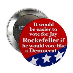 It would be easier to vote for Rockefeller pin