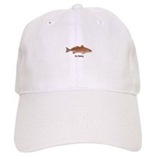 Fly Fishing - Red Drum Baseball Cap