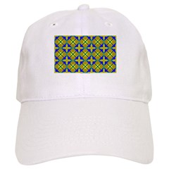 Golden Flower Baseball Cap