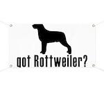 got rottweiler? Banner